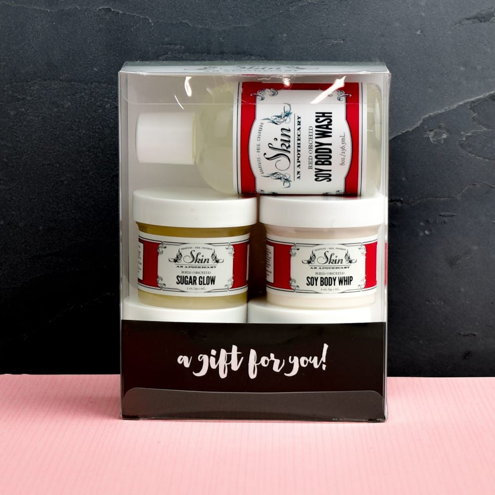 gift set red orchid